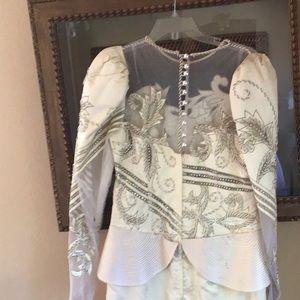 Wedding dress size 12 Custom Made